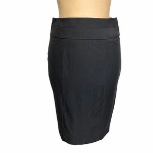B. Wear Byer California Dark Grey Pencil Skirt